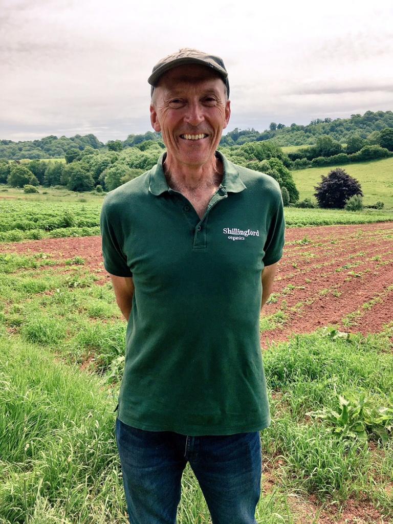 Martin Bragg, shillingford organics, pic by exploring exeter