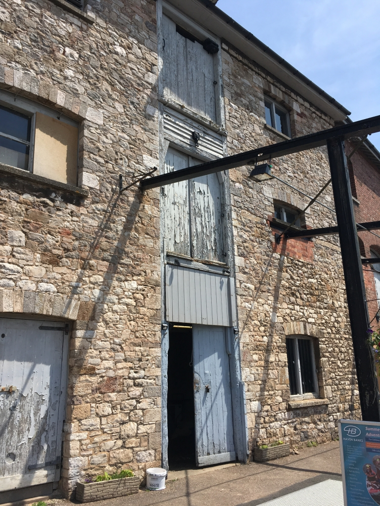 The Boatshed Theatre from the outside by Stephanie Darkes, Exploring Exeter, 2017