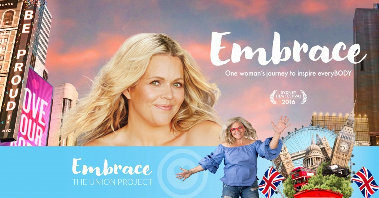 Body image activist Taryn Brumfitt's film Embrace is coming to Exeter School on January 30th and we think EVERYONE needs to go and see it!