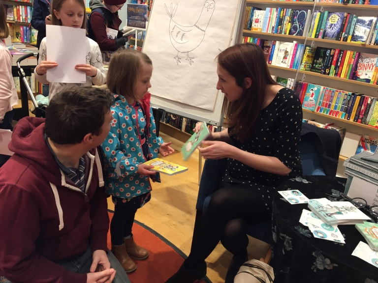 Exeter author Clare Elsom's Book launch 'Horace and Harriet'. Exploring Exeter 2018