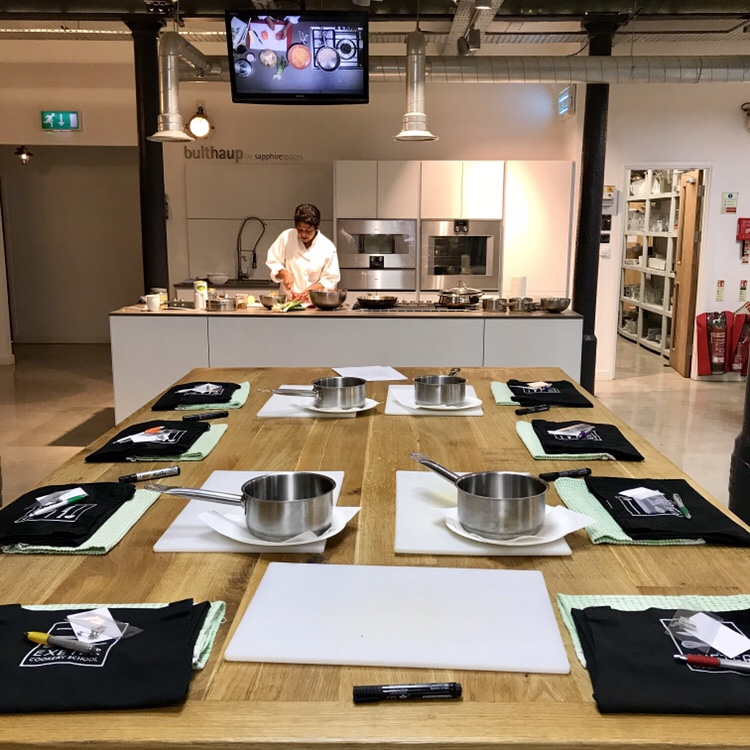 Indian cooking at Exeter cookery school, exploring exeter