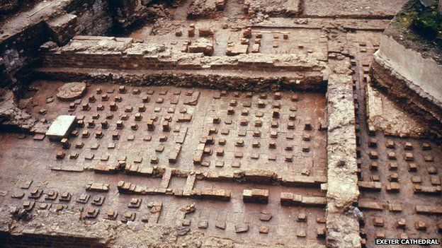 Secret history: Exeter's Roman Baths, by Jamie Ransom, Exploring Exeter