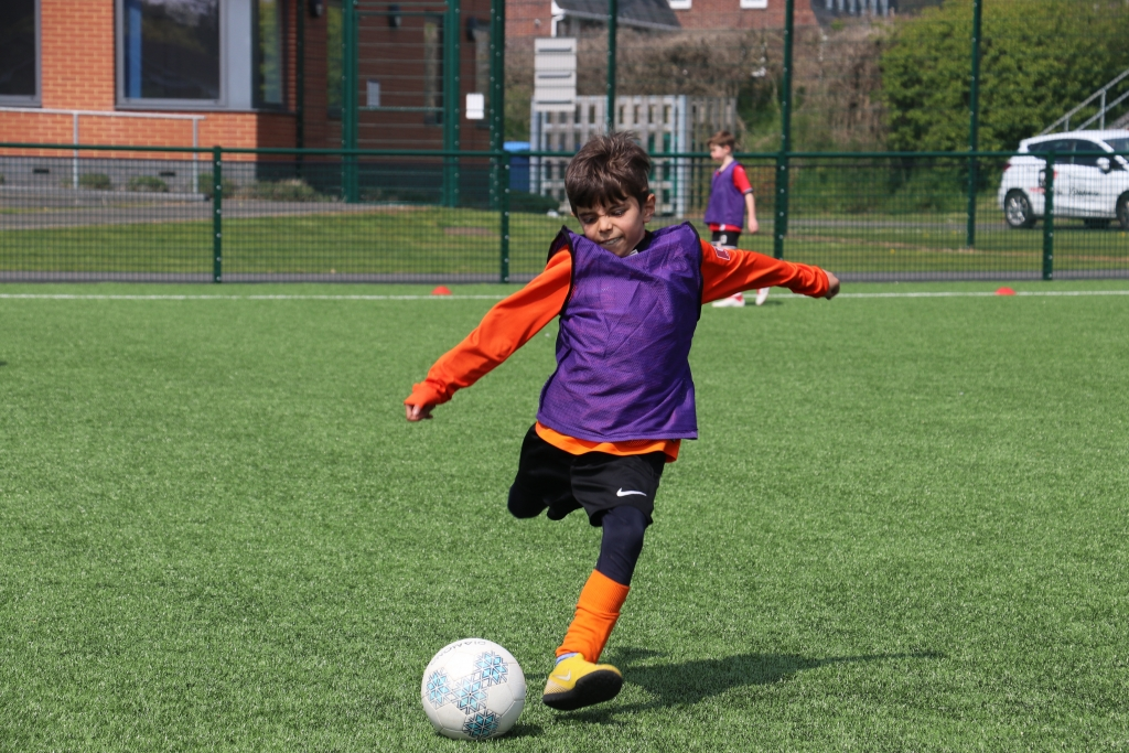 Football and wellbeing from Exeter City Community Trust, Exploring Exeter 2019